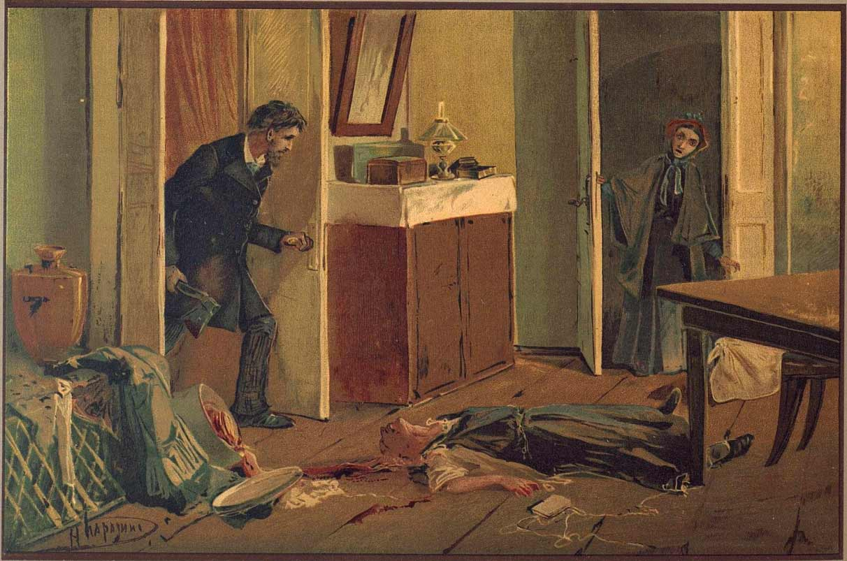 the alienation of raskolnikov in crime and punishment