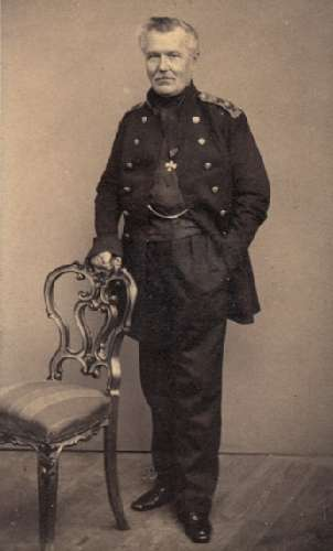 Адмирал Ф. Ф. Матюшкин в пожилые годы [Фотография]