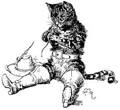 кот в сапогах шарль перро картинки