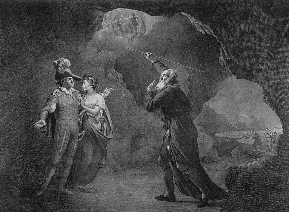 a comparison of prospero and shakespeare Prospero, the magus, and shakespeare dr john dee prospero appears to be very much in control throughout the tempesthe controls much of what happens the characters on and offstage, and is able to manage the natural phenomena of the island.